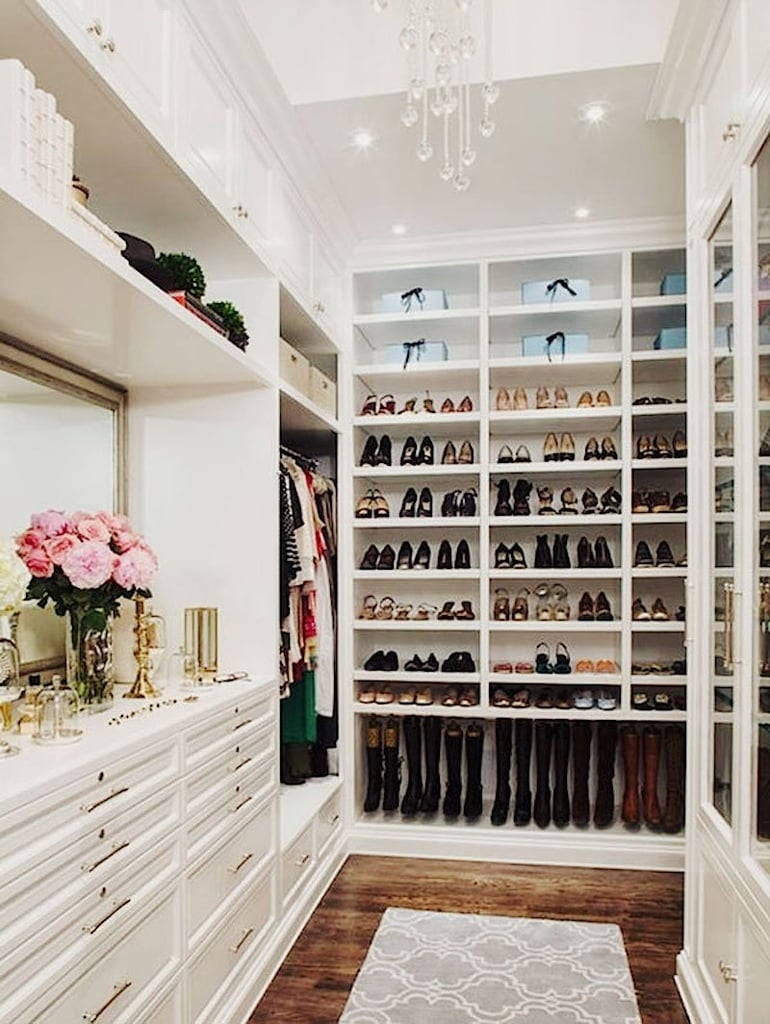 The Large Walk In Closet