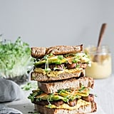 Sweet and Spicy Tempeh Sandwich