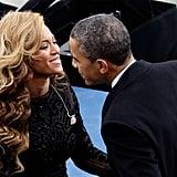 He's tight with Beyoncé.