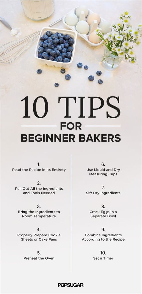 Baking Tips for Beginner