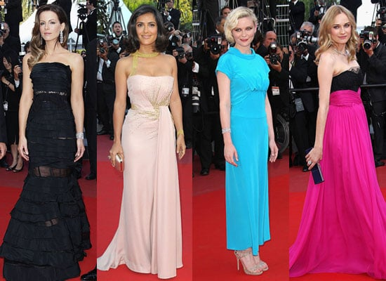Pictures of Cannes Palme d'Or Closing Ceremony Penelope Cruz, Diane Kruger, Kate Beckinsale, Javier Bardem, Salma Hayek