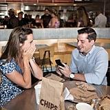 Chipotle Proposal Photos