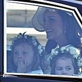 Kate Middleton's Mum Moments at the Royal Wedding 2018