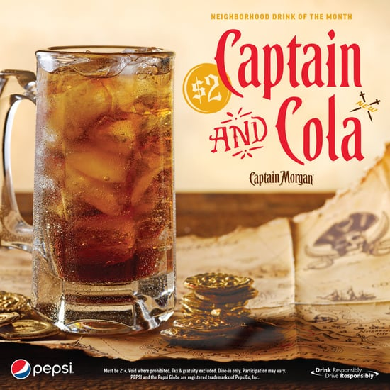 Applebee's $2 Captain and Cola January 2019