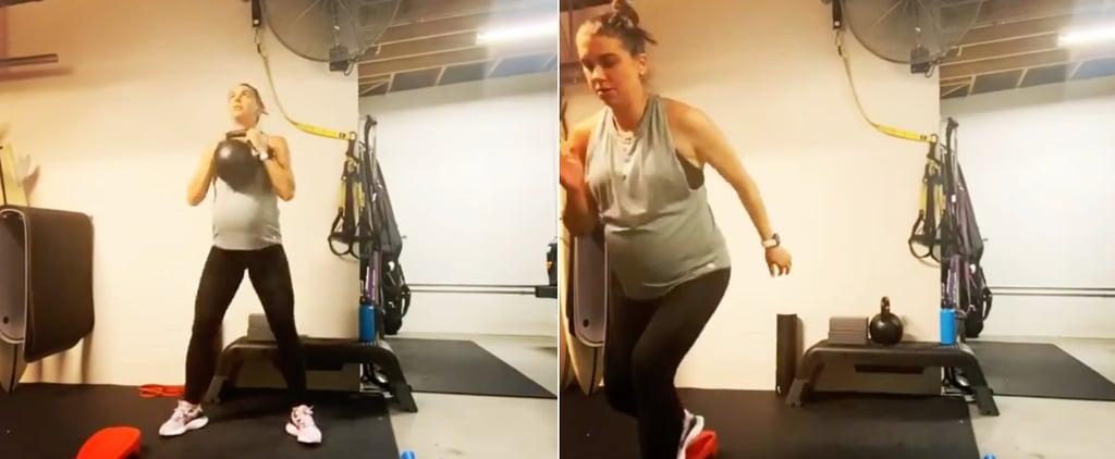 Watch Alex Morgan's Home Pregnancy Workout on Instagram