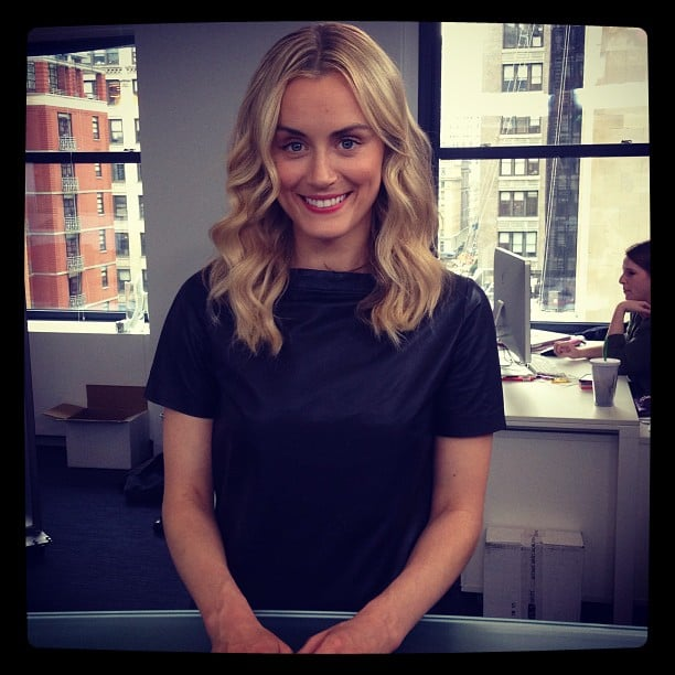 We were so excited to get some one-on-one time Taylor Schilling after Orange Is the New Black turned into such a success!