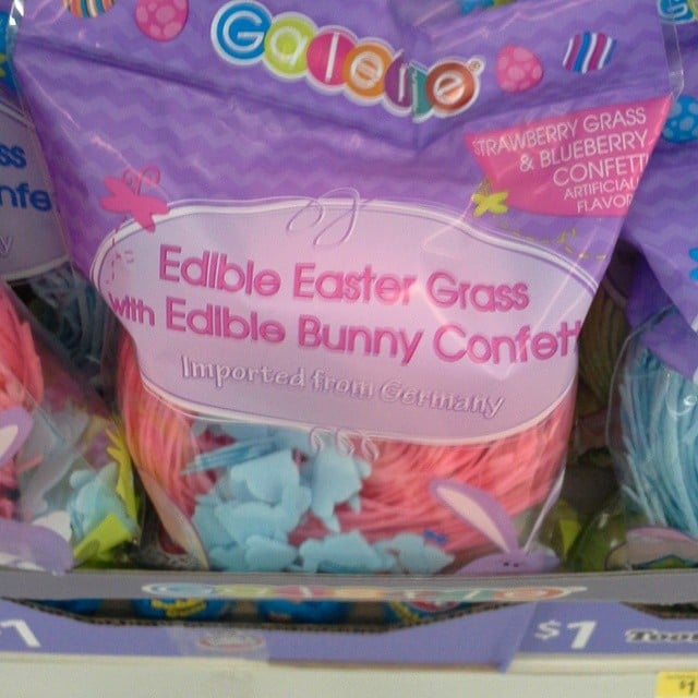 What Do You Mean This Edible Confetti Has Artificial