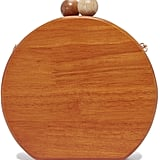 Inge Christopher Ornella Round Wood Clutch