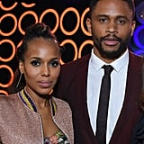 Kerry Washington and Nnamdi Asomugha at the 33rd Annual Film Independent Spirit Awards in 2018