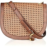 Stella McCartney Alexa Woven Faux-Leather Bag ($1,595)