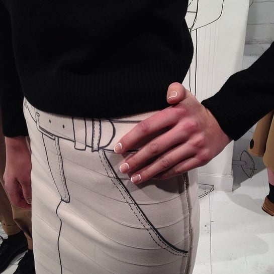 This manicure from Band of Outsiders got our Instagram followers inspired this week. But it was just one of many memorable NYFW nail designs. Source: Instagram user POPSUGARBeauty