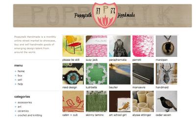 New and Noteworthy: Poppytalk Handmade Online Virtual Street Market