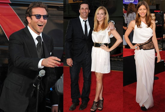 Pictures of Bradley Cooper and Jessica Biel at The A-Team Premiere in LA 2010-06-04 12:30:12