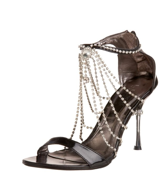 We love these Pleaser heels ($85) that have the glitzy, sophisticated look of true flapper footwear.