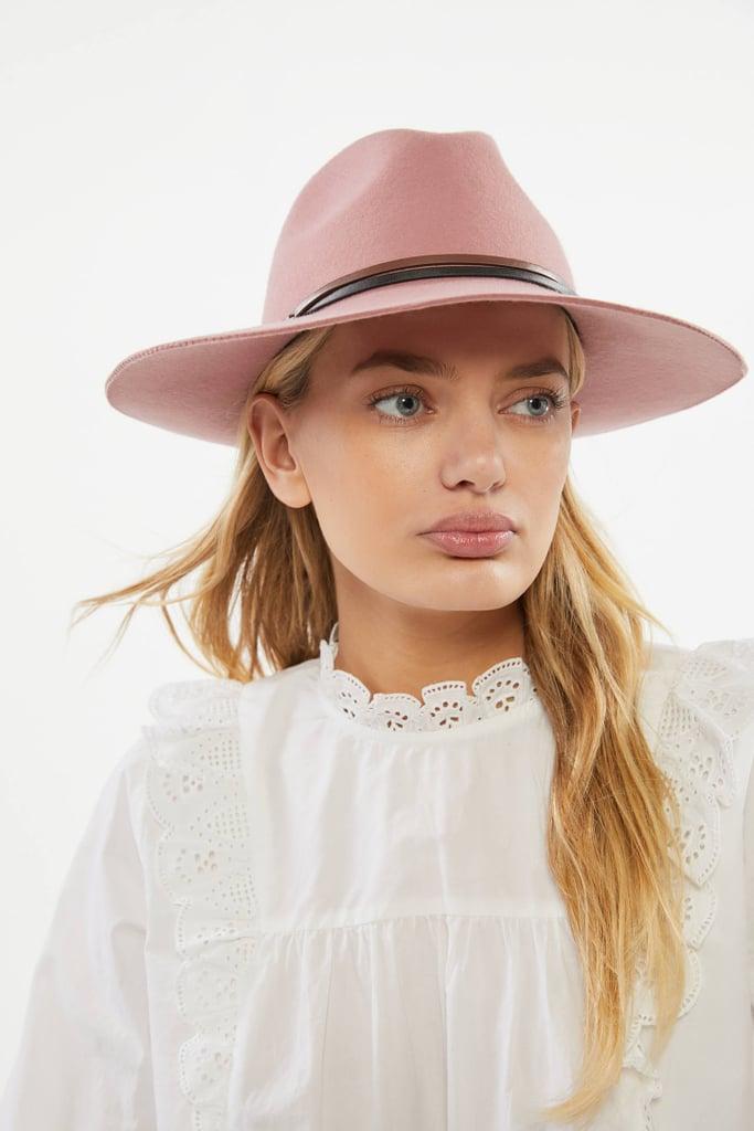 Two-Tone Felt Panama Hat