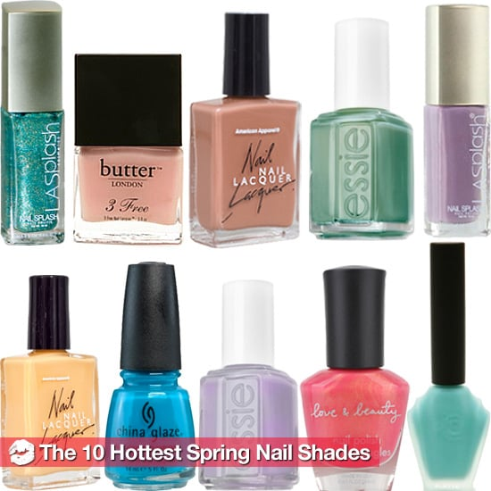 The 10 Big Nail Polish Shades For Spring 2011 | POPSUGAR Beauty