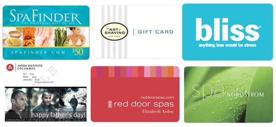 Father's Day Spa Gift Cards