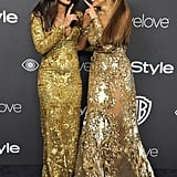 And Being Silly on the Red Carpet at the InStyle Afterparty