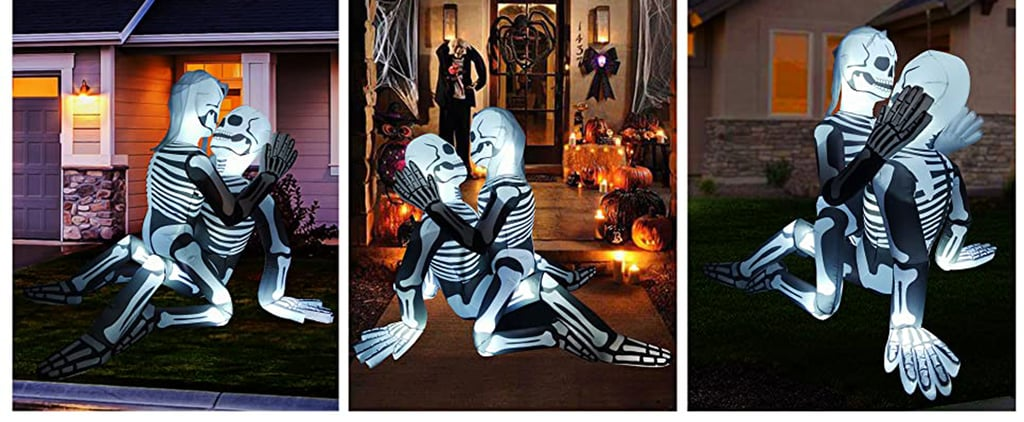Sexy Halloween Decor? Shop This Inflatable Skeleton Couple