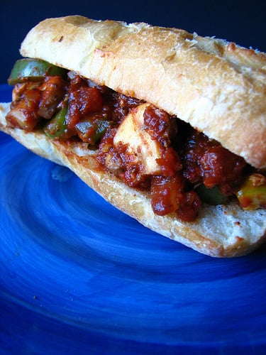 Yummy Link: Veggie Version of the Sub Sandwich