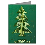 Circuit Board Christmas Card