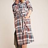 Baacal Lauren Plaid Plus Shirtdress