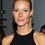 Gwyneth Paltrow had slicked-back hair at the Grammys 2012.