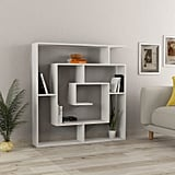 Linus White Bookcase