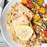 1-Pan Spring Salmon and Veggies