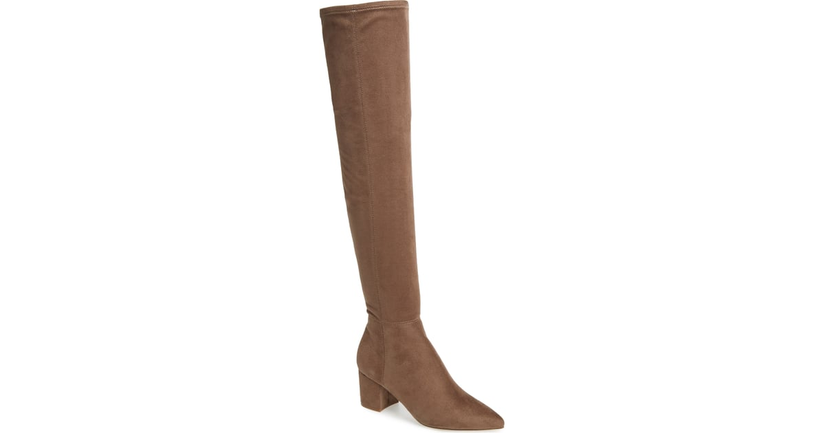 18cebf8e454 Steve madden brinkley over the knee stretch boot nordstrom anniversary sale  steve madden boots popsugar fashion