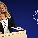 As an Ann Taylor Global Ambassador, Kate Hudson discussed the company's ongoing initiatives on Wednesday.