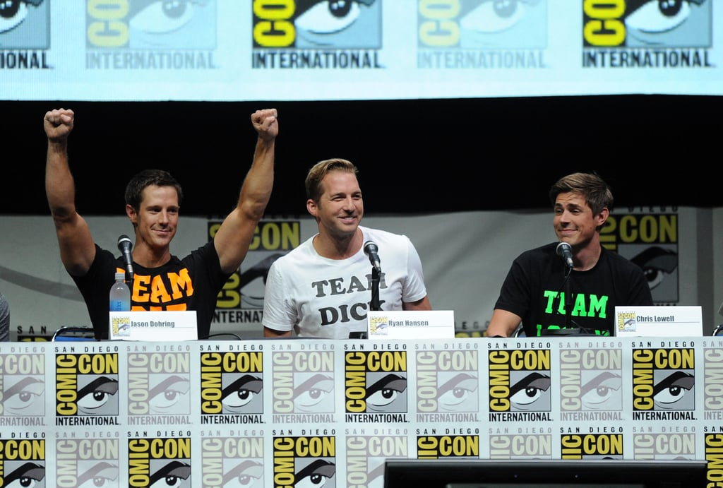 Chris Lowell, Jason Dohring, and Ryan Hansen sat in for a Veronica Mars Q&A.