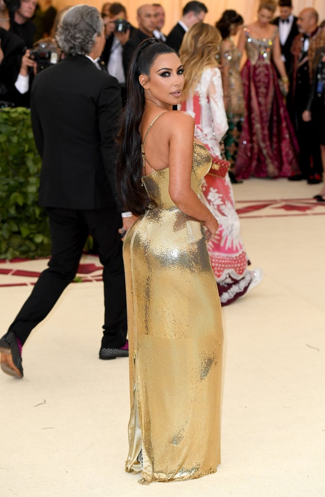 Kim Kardashian's Makeup at Met Gala 2018