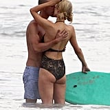 Paris Hilton Kissing Mystery Man After River Viiperi Breakup
