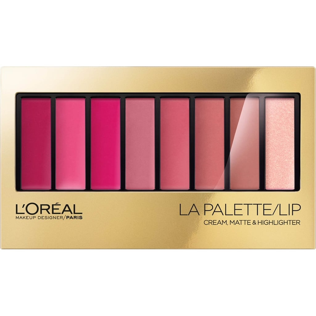 """The Lip Palette is major! I actually helped to design these and am obsessed. They are the perfect stocking stuffer for the beauty obsessed. There are three different shade ranges – Nude, Plum and Pink. They are all gorgeous and if you want to embrace a cool winter lip… the plum palette is right on trend. I would definitely gift this item to any beauty junkie.""  L'Oréal Paris Colour Riche La Palette Lip ($17)"