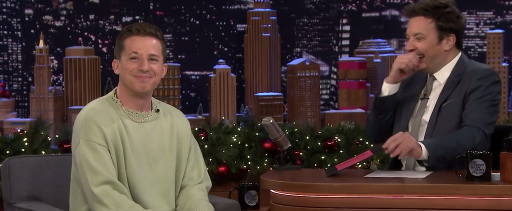 Watch Charlie Puth Review His Old Christmas Albums on Fallon