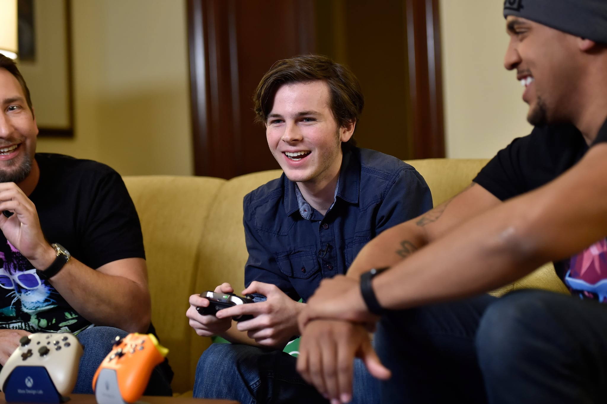 Chandler Riggs Short Haircut February 2018 Popsugar Middle East Celebrity And Entertainment
