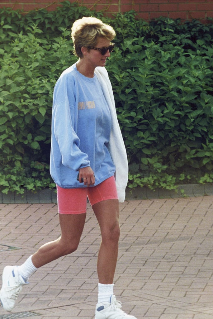 Pastel Sweatshirt and Bike Shorts