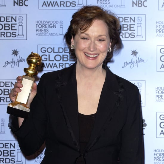 Meryl Streep at the Golden Globes Over the Years Pictures
