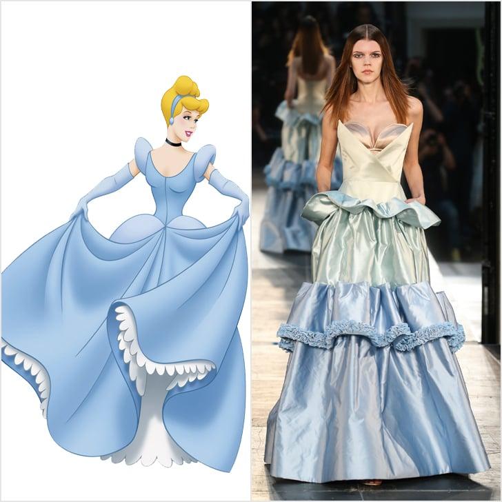 Cinderella in Alexis Mabille Haute Couture