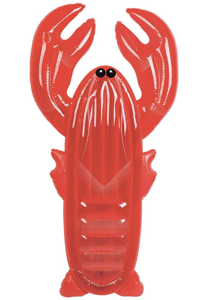 SunnyLife Luxe Lie-On Lobster Pool Float
