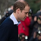 Prince William was out in London.