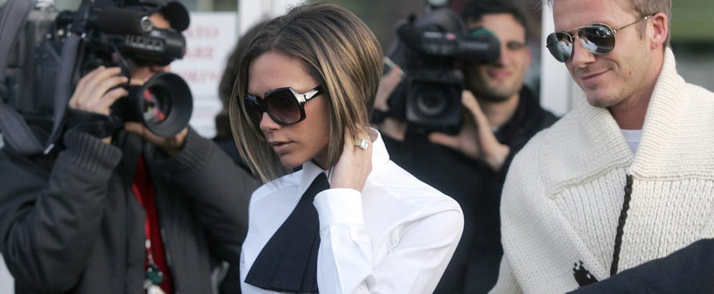 Of All Her Airport Outfits, Victoria Beckham Has Never Been Photographed in This Cozy Staple