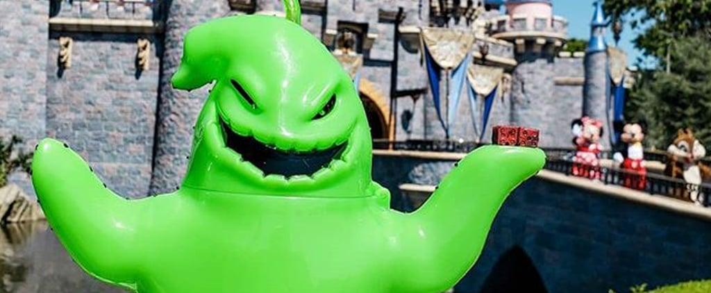 Disney Sells Glowing Oogie Boogie Sipper Cups For Halloween