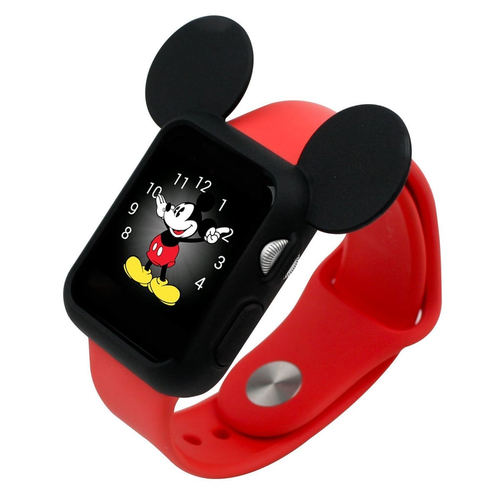 Silicone Mickey Mouse Ears Apple Watch Case