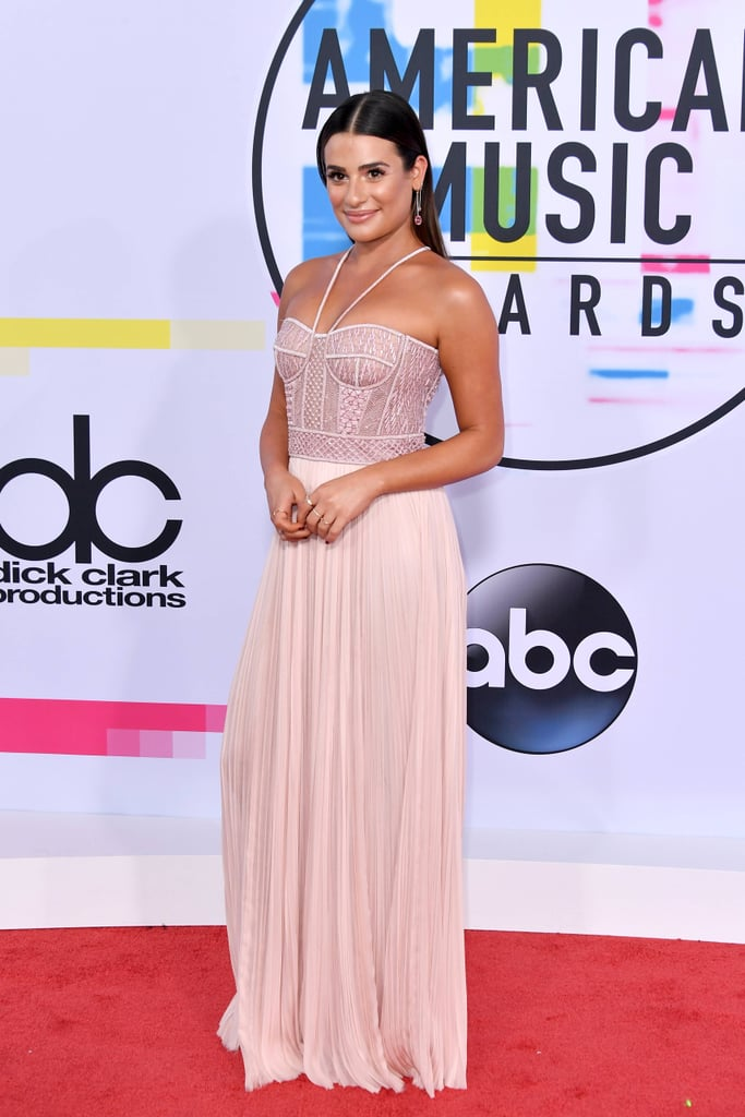 Lea Michele J. Mendel Dress at American Music Awards 2017