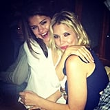 Selena Gomez and Ashley Benson hugged it out in Venice. Source: Instagram user itsashbenzo