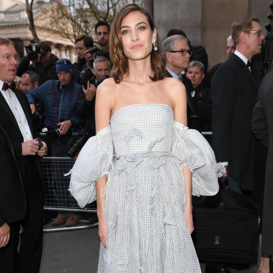 Alexa Chung in Loewe Dress at National Portrait Gala | 2017