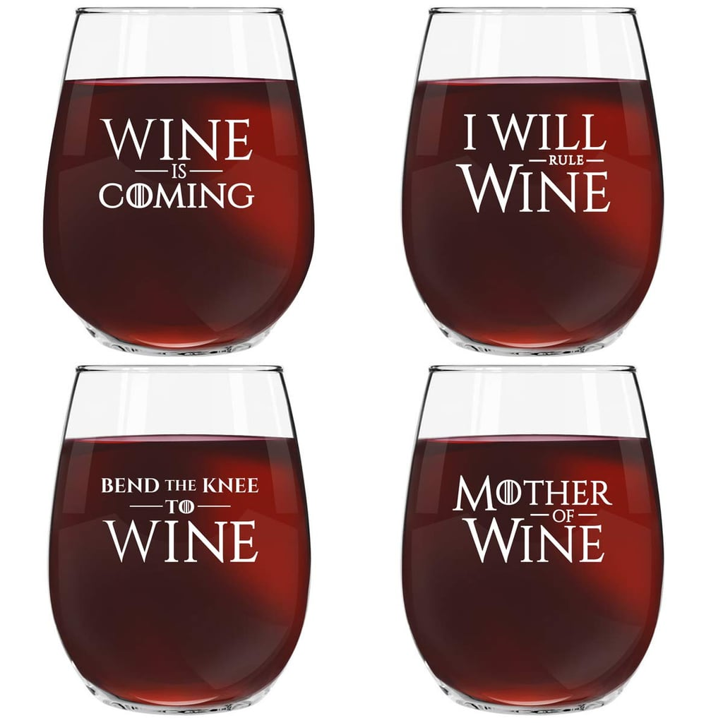 Game of Thrones Inspired Wine Glasses