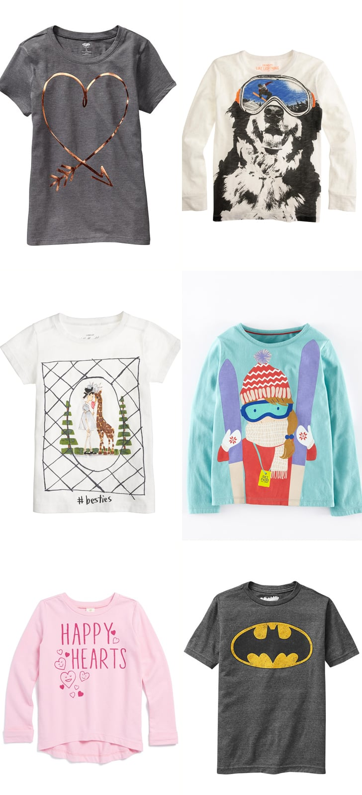 7e0863b6f Tucker + Tate High-Low Happy Hearts Shirt | Cute Graphic Tees For Kids |  POPSUGAR Family Photo 6